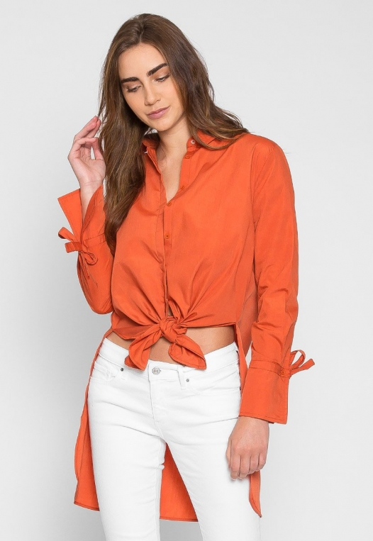 Excited High Low Oversized Shirt alternate img #3