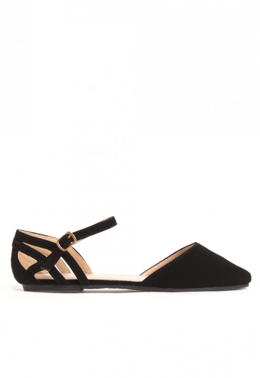 Distant Star Ankle Strap Flats alternate img #1
