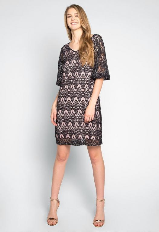 Melancholia Lace Mini Dress alternate img #4
