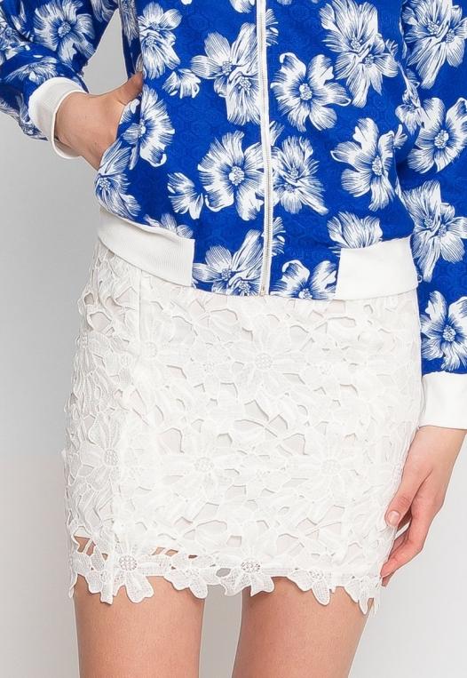 Dana Lace Mini Skirt alternate img #7