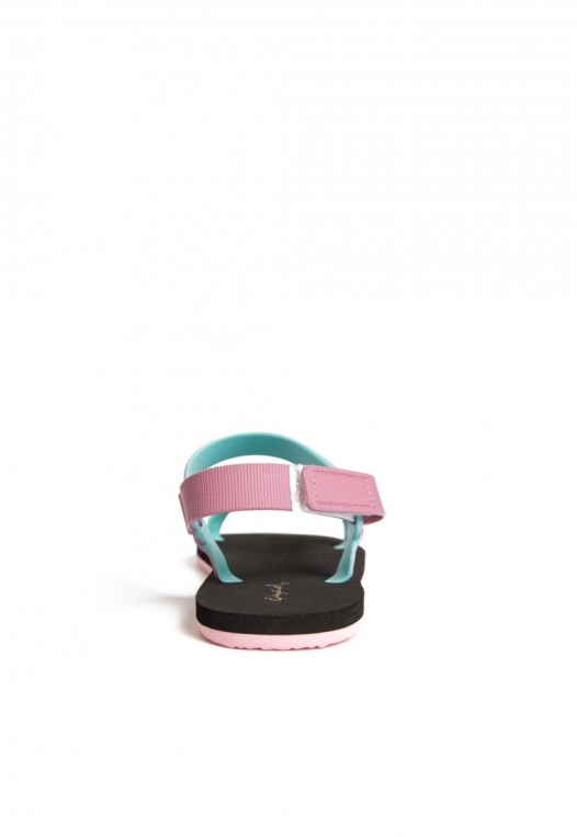 Oceanside Ombre Sandals in Lilac alternate img #2