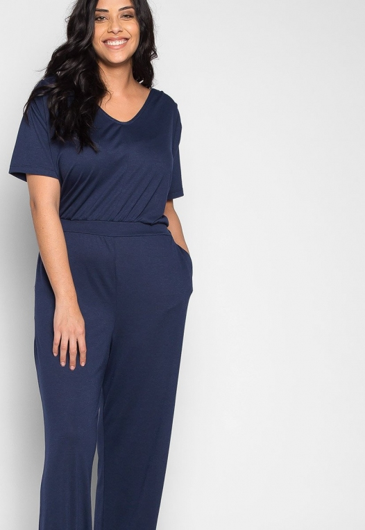 Plus Size Only You V Neck Jumpsuit alternate img #5