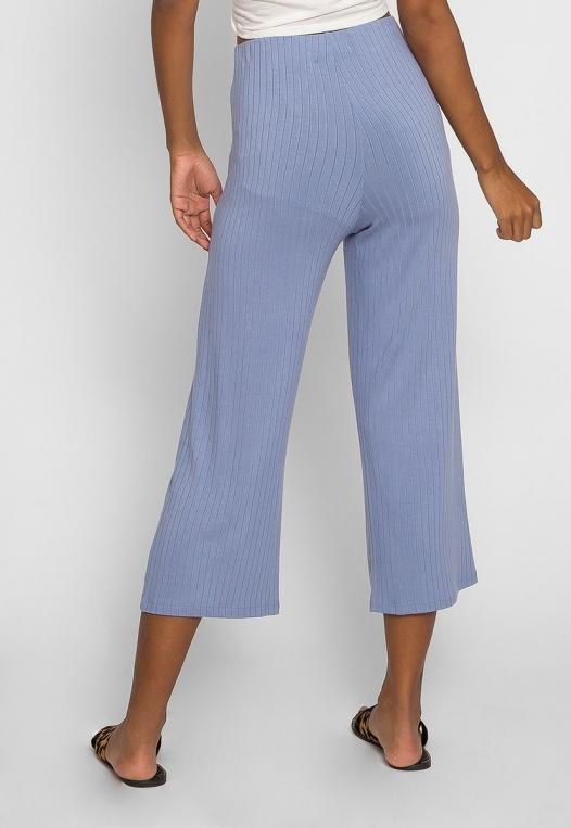 Day In Knit Pants in Light Blue alternate img #2