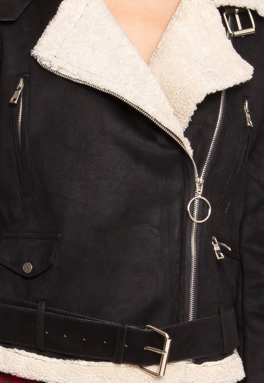 Colorado Sherpa Jacket in Black alternate img #6