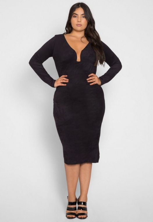 Plus Size After Party Bodycon Dress alternate img #4