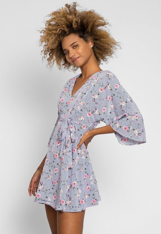 Gardens Kimono Dress alternate img #1
