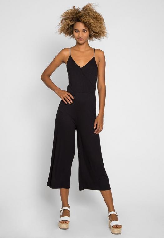 Visor Wide Leg Sleeveless Jumpsuit alternate img #1