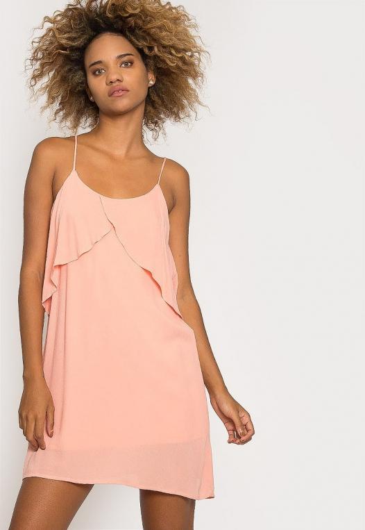 Creme Breezy Dress alternate img #5