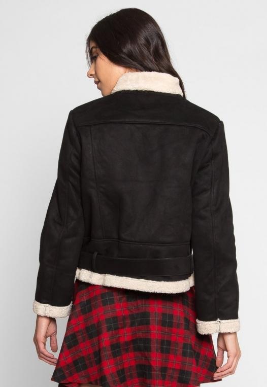 Colorado Sherpa Jacket in Black alternate img #3