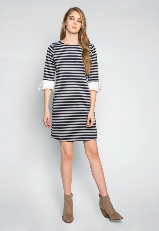 Freelove Striped Tunic Dress alternate img #4