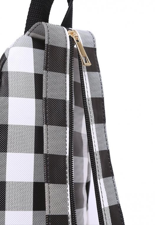 Picnic Gingham Convertible Sling Backpack alternate img #5
