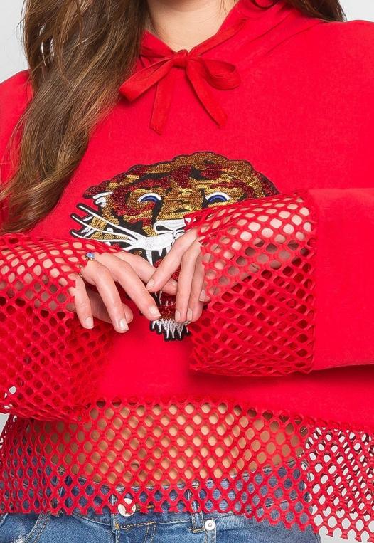 Loud Roar Tiger Hoodie alternate img #6