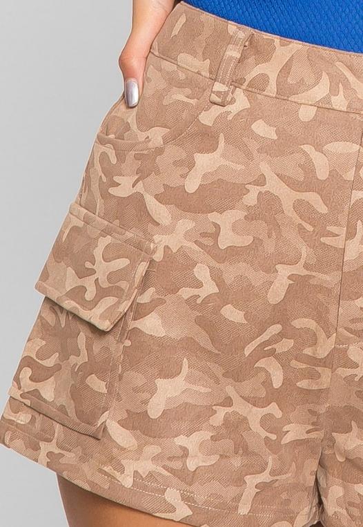 Wild Camo Cargo Shorts alternate img #7