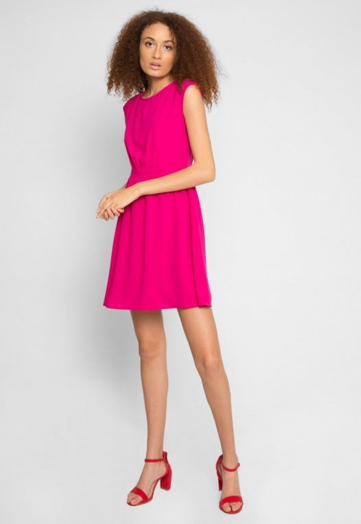 Cherry Pop Fit and Flare Dress alternate img #5