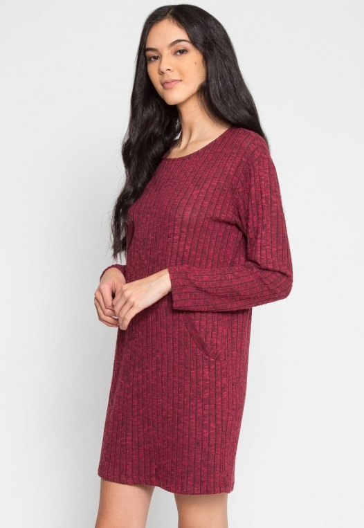 Daisy Textured Knit Dress alternate img #3