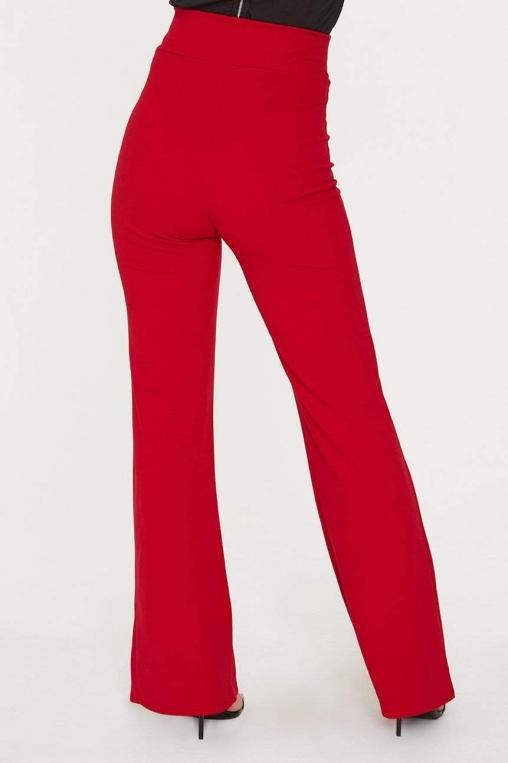 Self Tie Sash Wide Leg Trouser alternate img #3
