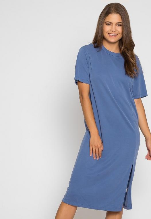 Make it Easy Slit Midi Dress alternate img #5