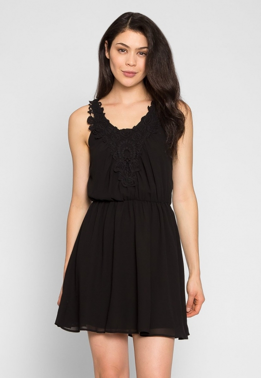 Crazy About You Front Lace Dress alternate img #1