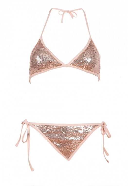 Sweet Luxe Sequin Bikini Set alternate img #7