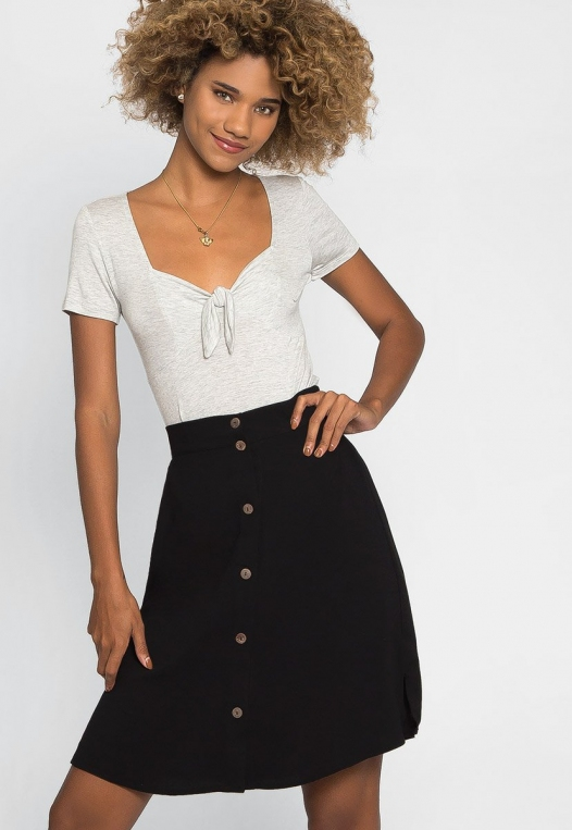 Sweet Lily A-Line Skirt alternate img #1