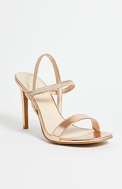 See Green Timeless Heel in Rose Gold