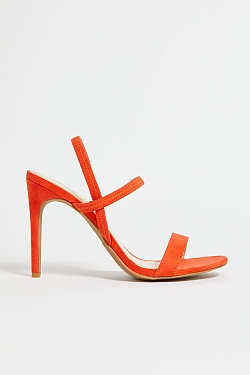 See Green Timeless Heel in Orange