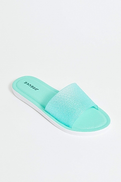 See Sparkle Slides in Mint
