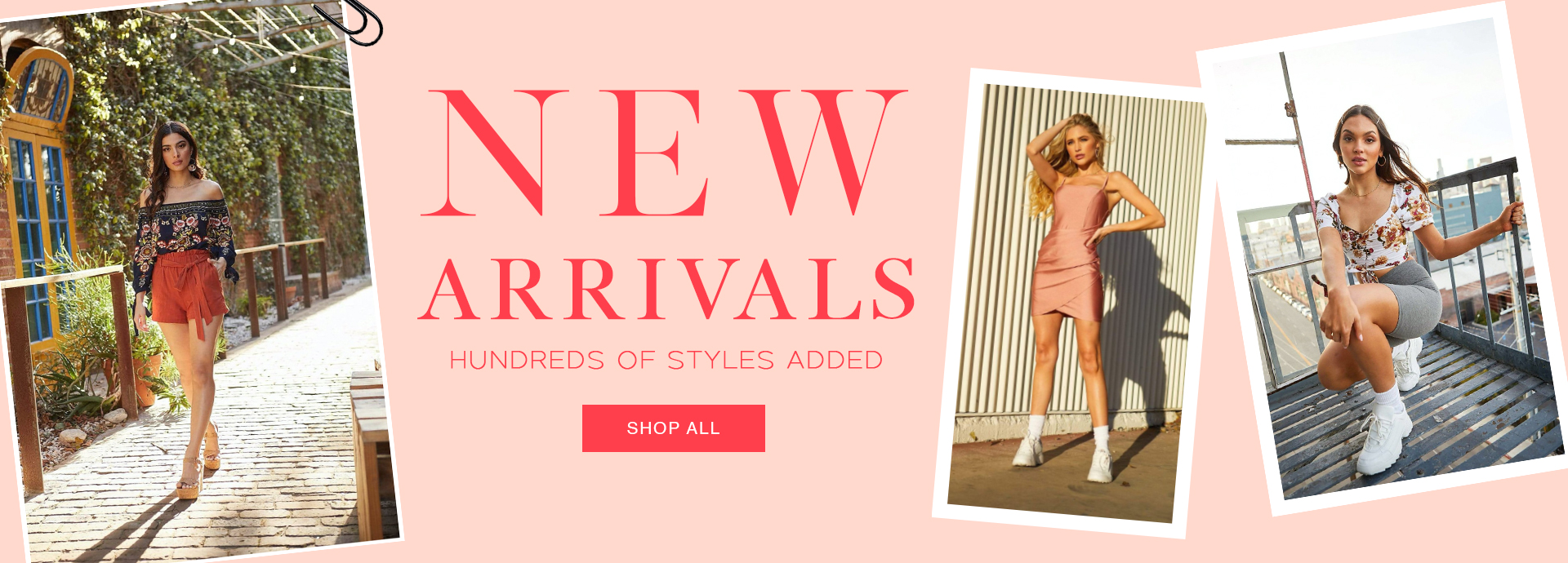New Arrivals - hundreds of styles added